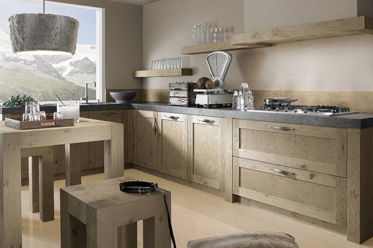 Old wood keukens: stoer u0026 warm