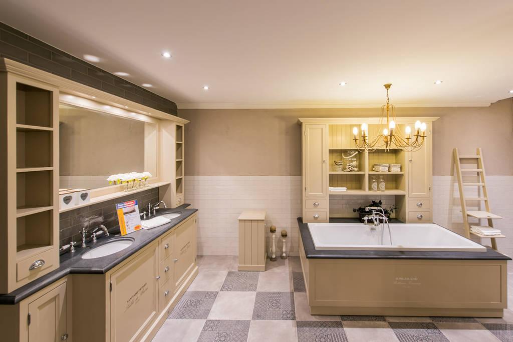 Franse badkamers warme sfeer en origineel - Badkamers ...