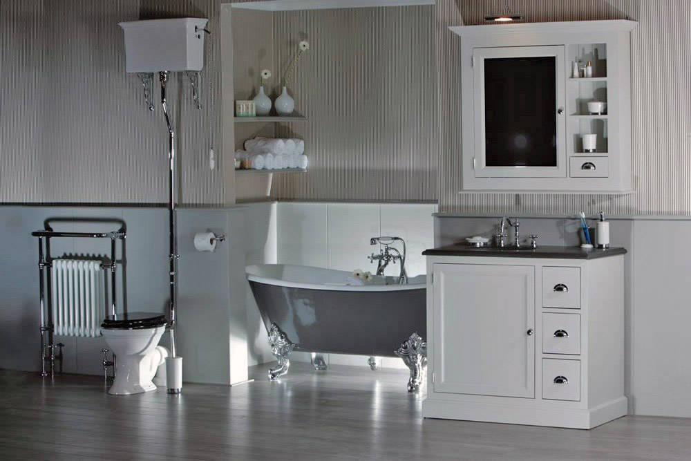 Engelse badkamers authentiek en stijlvol - Een mooie badkamer ...