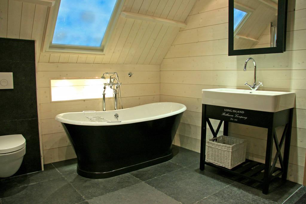 Boeren badkamers: gezellig en sfeervol