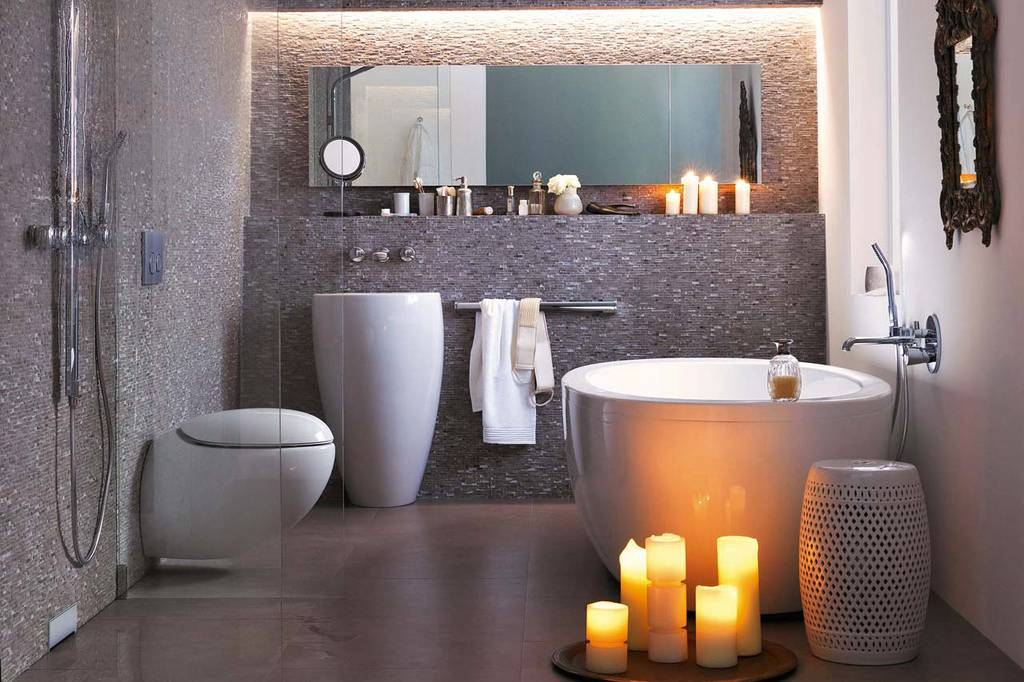 bathroom art ideas for walls strakke badkamers modern en klassiek 22960
