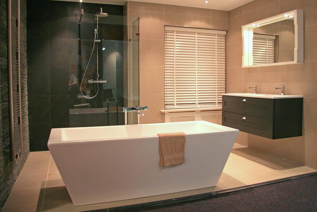 Moderne Strakke Badkamer : Strakke badkamers: modern en klassiek