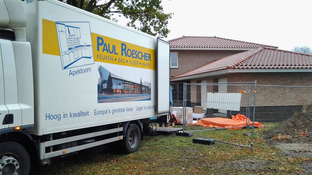 Paul Roescher bezorgt aan huis