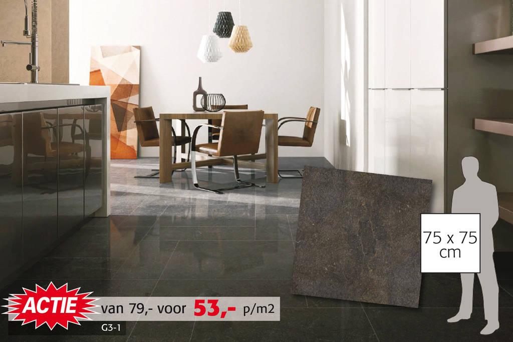Belgisch hardsteenlook tegel