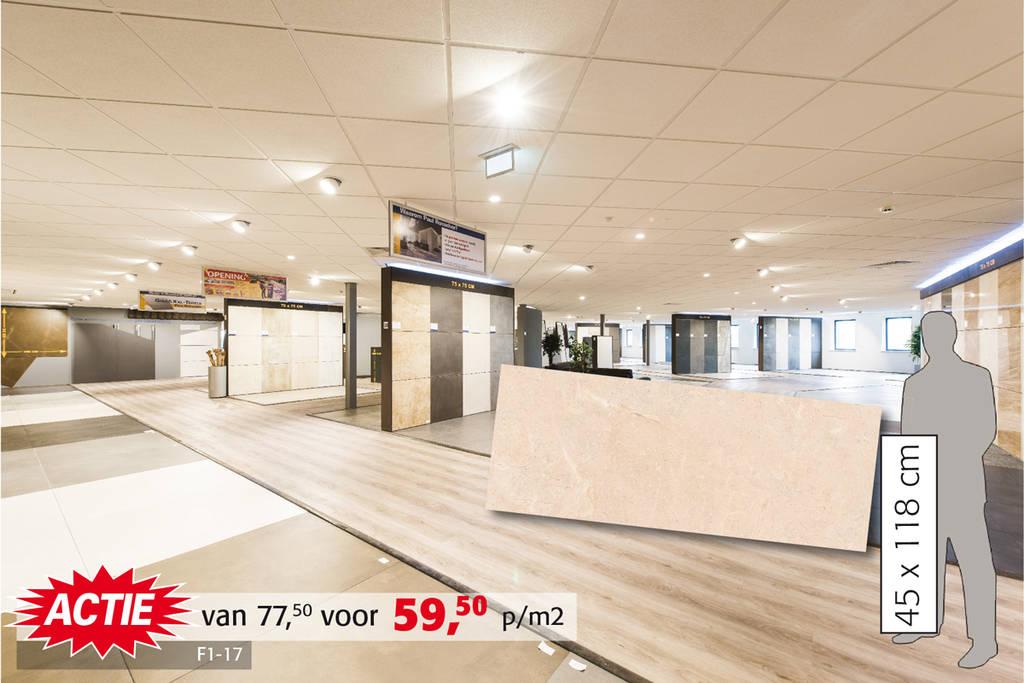 Natuursteendecor tegel | Zeer exclusief: 23 m2 geen herhaling  van decor! In 3 kleuren