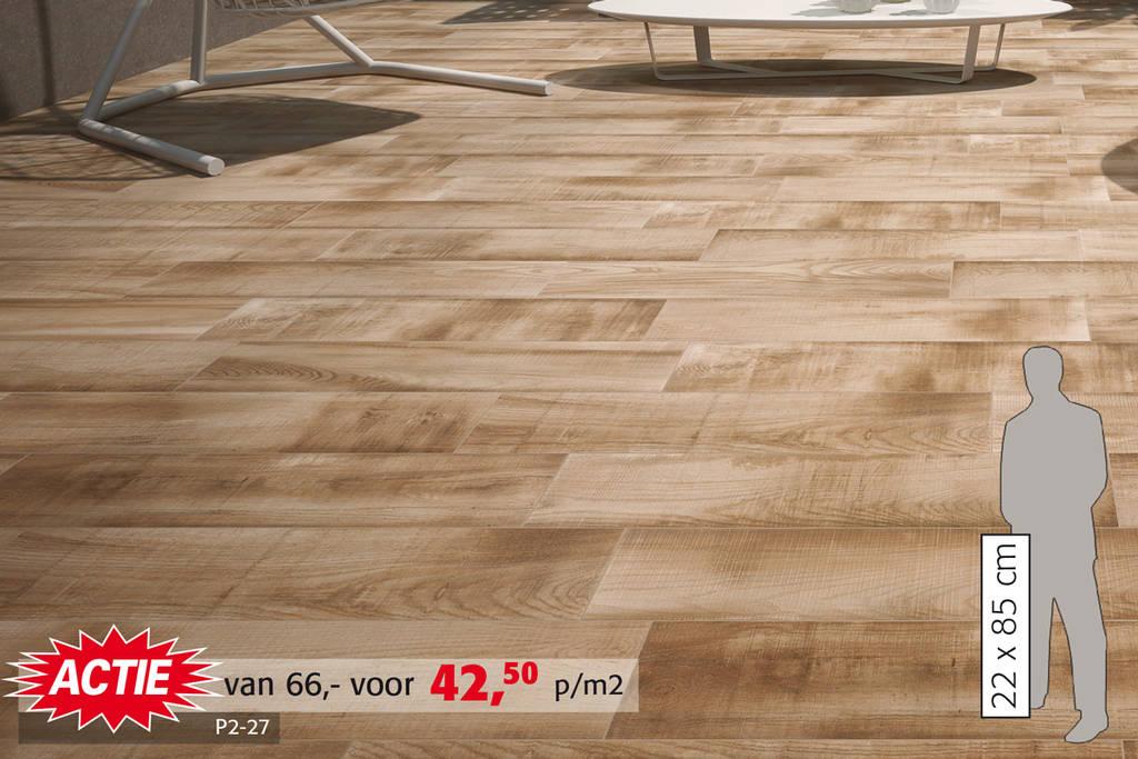 Wrakhout tegel | Voor stoere look in de woonkamer, leverbaar in 3 kleuren