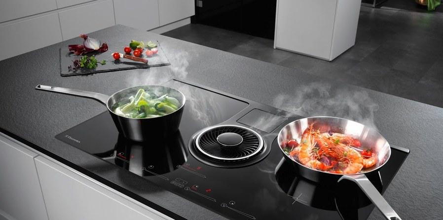 De kookplaat met afzuiging: iets voor u?