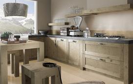 Een houten keuken: altijd goed!
