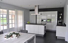 Maak kennis met de strakke en moderne greeploze keuken