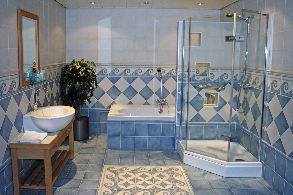 Klassieke badkamers van eenvoudig tot chic