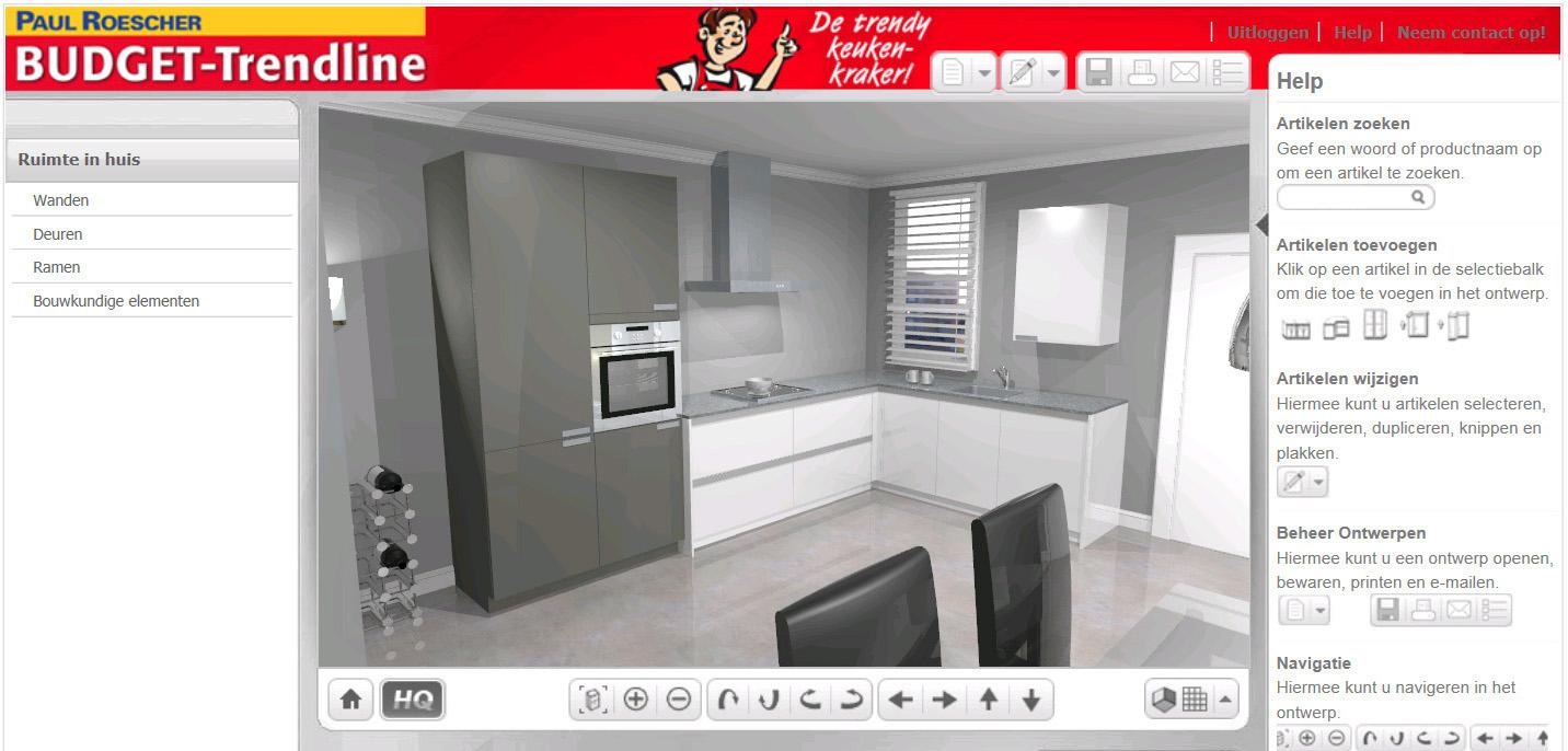 3d keukenplanner for Beste 3d keukenplanner