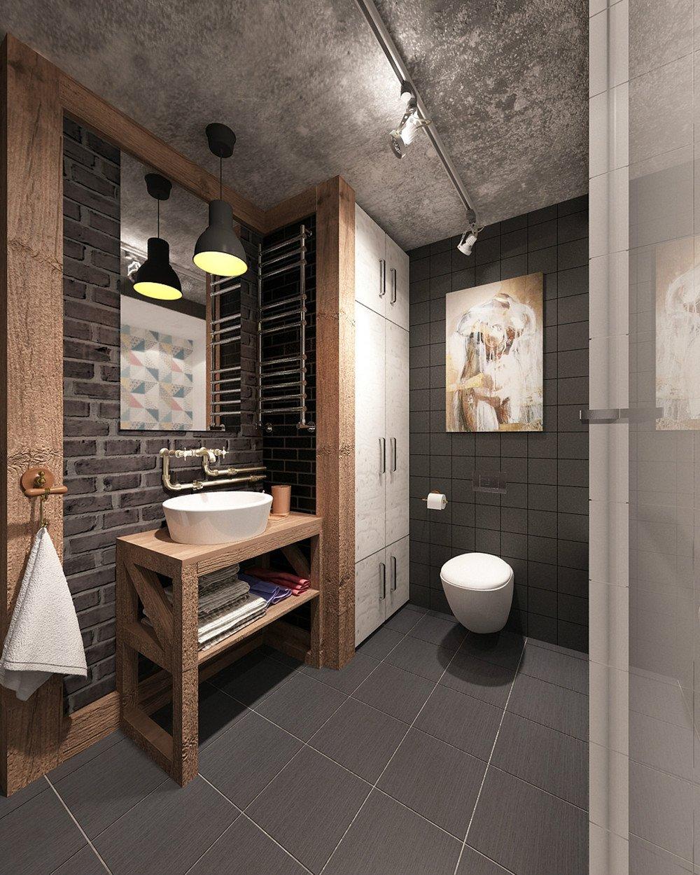 Industriële badkamer: de trend van het jaar