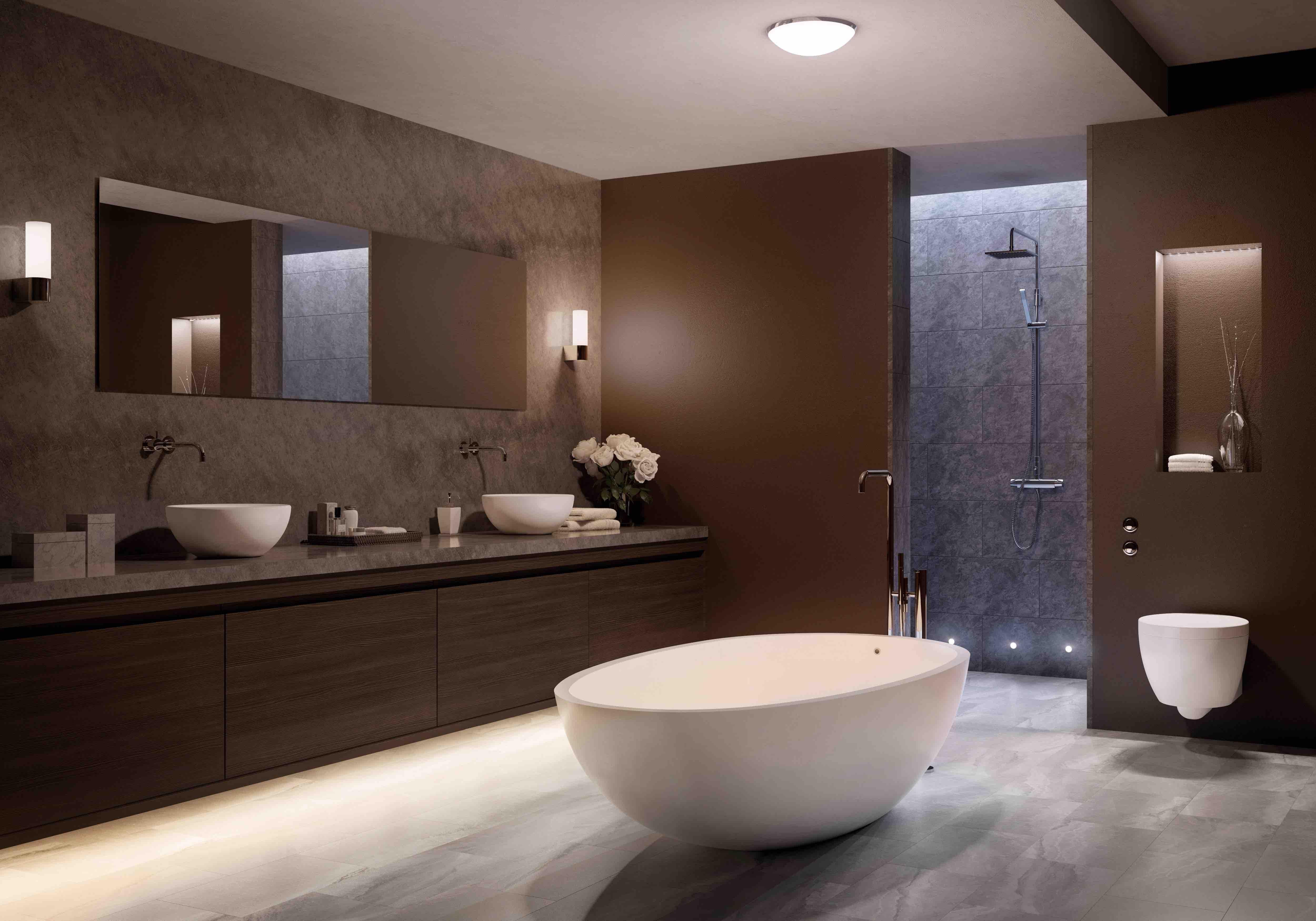 Badkamer Plafond Ideeen : Badkamerverlichting slimme tips en ideeën