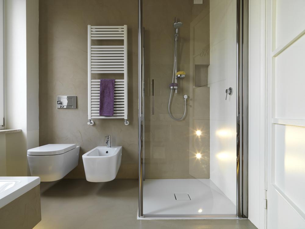 De perfecte inloopdouche 11 tips idee n - Kleine betegelde badkamer ...