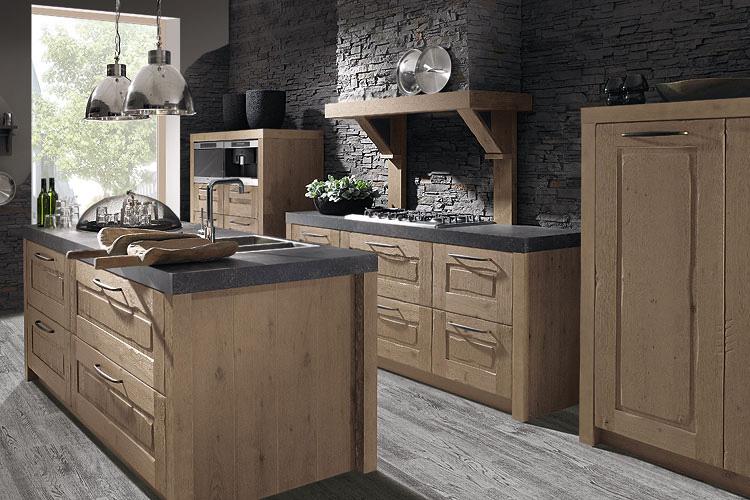 Houten keukens: pure schoonheid van de natuur