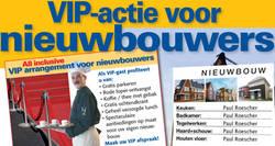 VIP-actie voor nieuwbouwers
